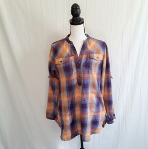 WoolRich Plaid Popover Tunic!